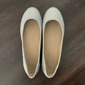 Size 6.5 REFRESH Crystal Rhinestone Ballet Flats